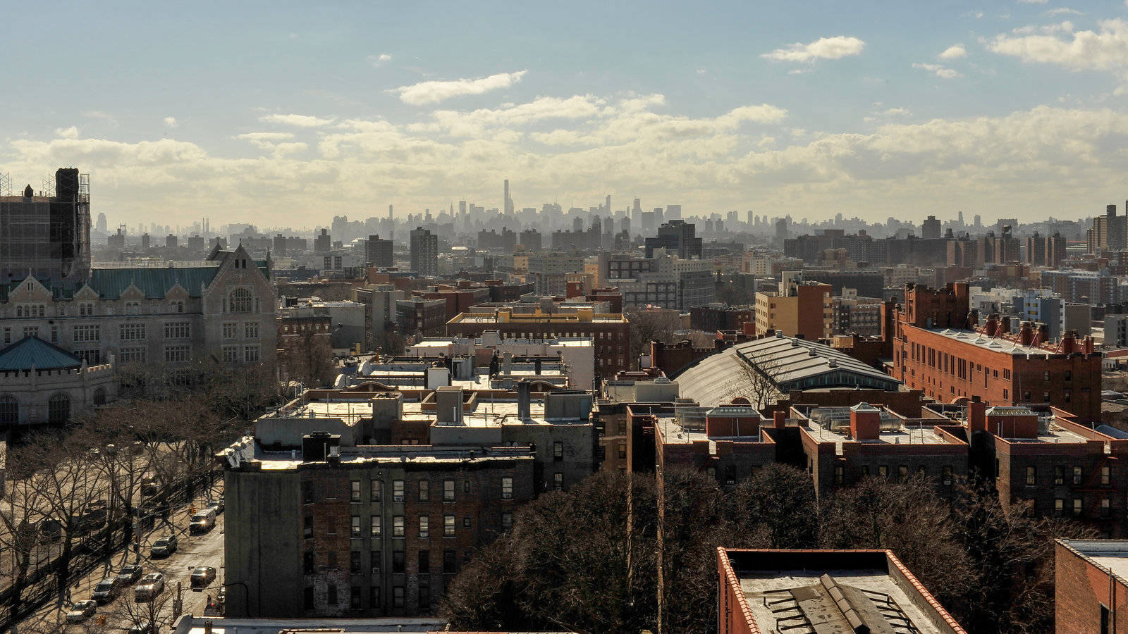 A view of the Morrisania neighborhood