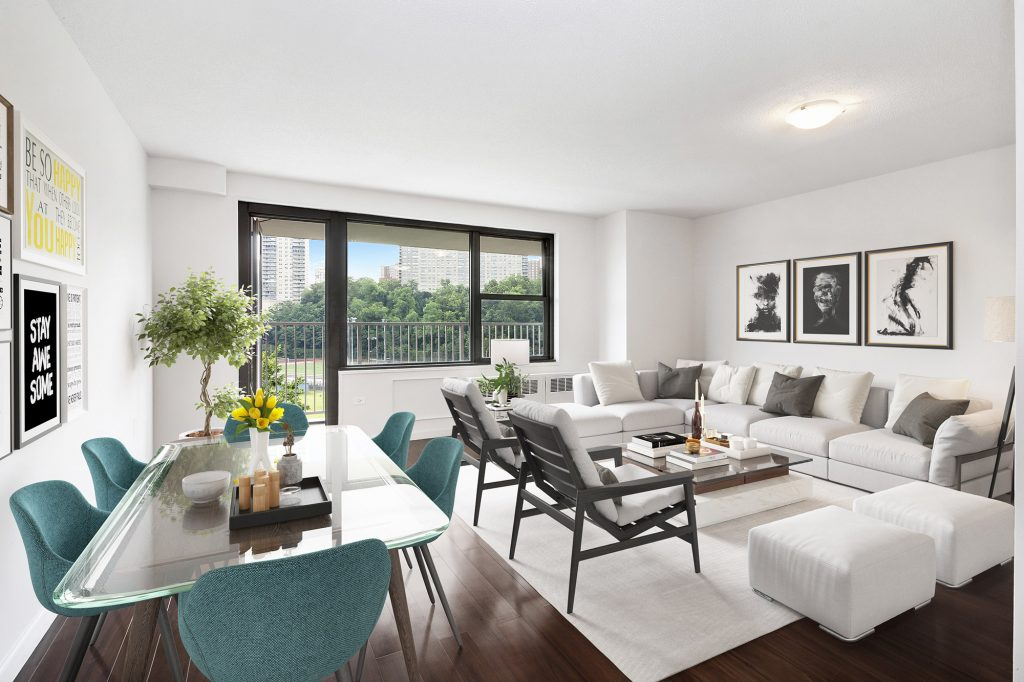 A photo of a living room in Promenade apartments