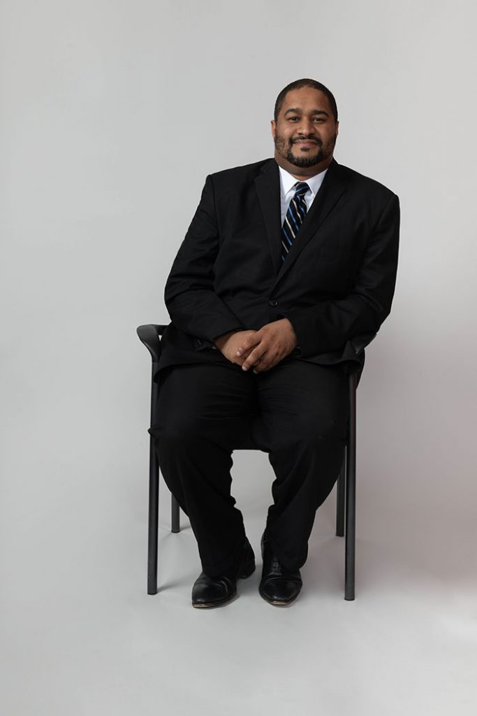 A photo of Brandon Edwards, Occupancy Manager at Nelson Management Group