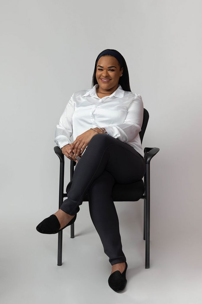 A photo of Chemica Caicedo, Housing and Legal Specialist at Nelson Management Group