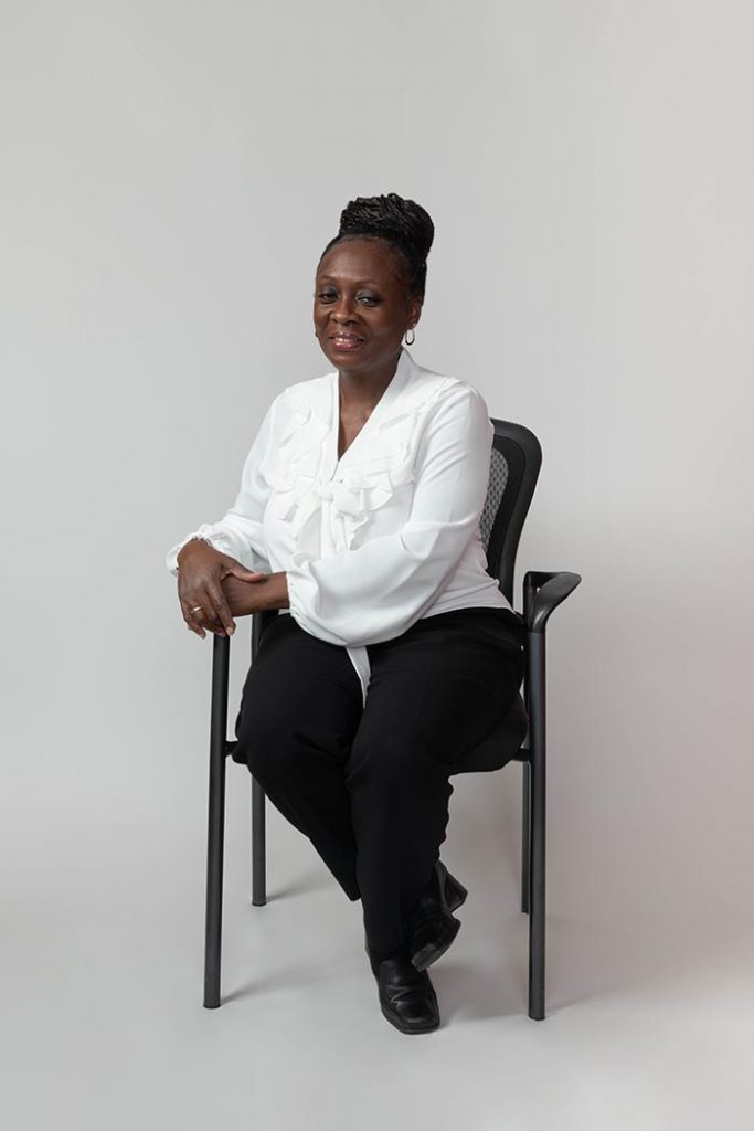 A photo of LaSheila Anderson, Support Specialist at Nelson Management Group