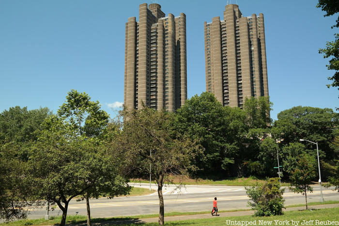 A photo of Tracey Towers buildings in Bronx New York